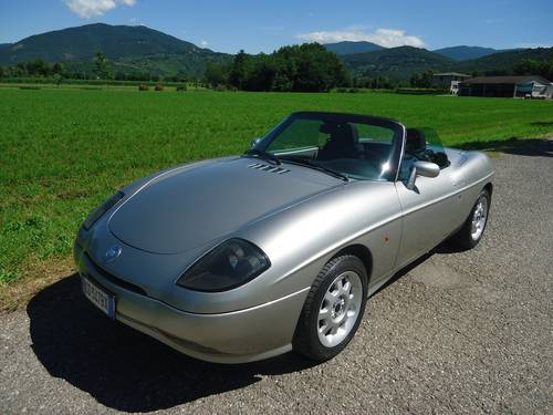 2001 Fiat Barchetta 1800 16V with hard top For Sale (picture 1 of 6)