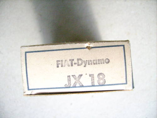 Dynamo Brush Set Fiat 500 2nd series 1958-59 For Sale (picture 3 of 3)