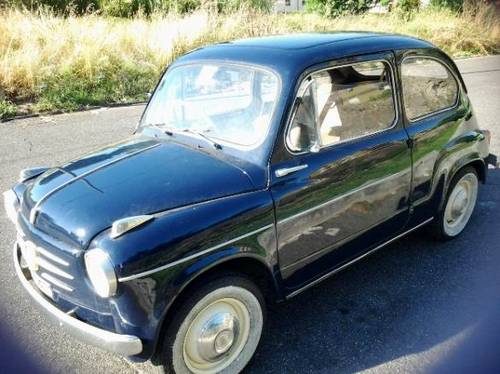 1959 Fiat 600 RHD Very Good daily Driver!! For Sale (picture 1 of 6)