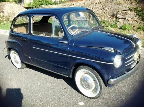 1959 Fiat 600 RHD Very Good daily Driver!! For Sale (picture 5 of 6)