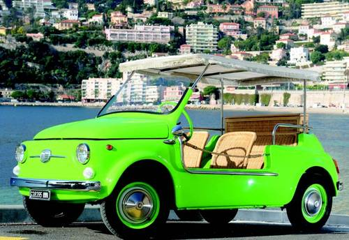 1968 Fiat 500 Jolly Replica Lhd For Sale Car And Classic