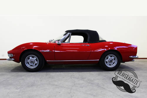 1968 Fiat Dino Spider 2000 Targa Oro ASI For Sale (picture 3 of 6)