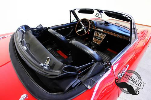 1968 Fiat Dino Spider 2000 Targa Oro ASI For Sale (picture 6 of 6)