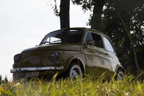 1974 Classic Fiat 500 with round speedo, fully restored!! For Sale (picture 1 of 6)