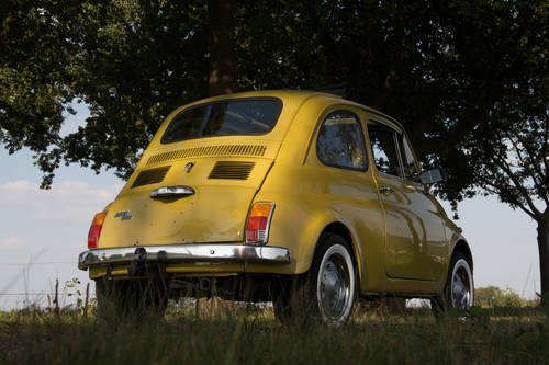 1974 Classic Fiat 500 with round speedo, fully restored!! For Sale (picture 3 of 6)