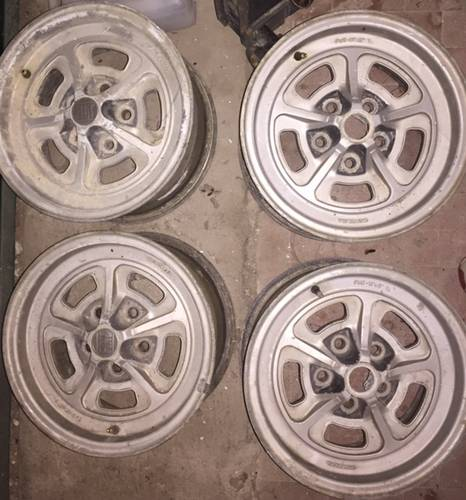 Alloy whells for fiat 130 coupe For Sale (picture 1 of 1)