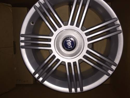 2002 Alloy whells for fiat stilo For Sale (picture 1 of 1)
