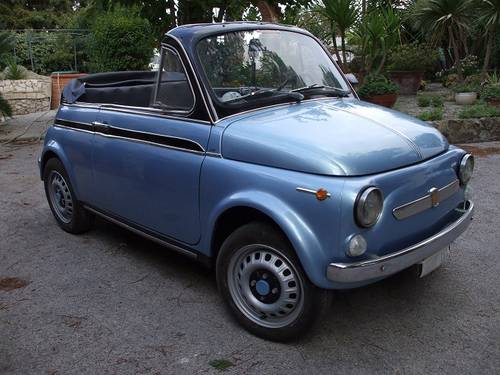1969 Fiat 500 Convertible For Sale (picture 1 of 6)