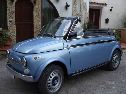 1969 Fiat 500 Convertible For Sale (picture 2 of 6)