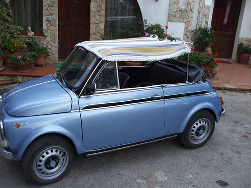 1969 Fiat 500 Convertible For Sale (picture 5 of 6)