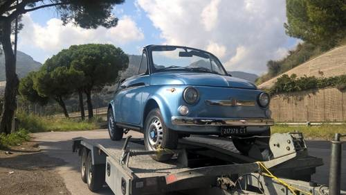 1969 Fiat 500 Convertible For Sale (picture 6 of 6)