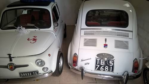 1970 Fiat 595 Abarth and Fiat 500D Giannini ORIGINAL SPECIMENS For Sale (picture 3 of 6)