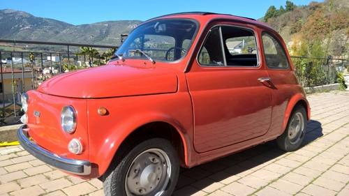 1973 Full Nut and Bolt Restoration Fiat 500R with original 595cc For Sale (picture 1 of 6)