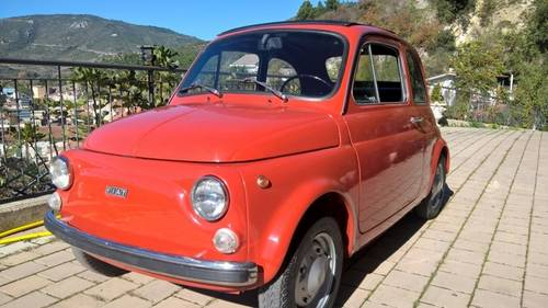 1973 Full Nut and Bolt Restoration Fiat 500R with original 595cc For Sale (picture 2 of 6)