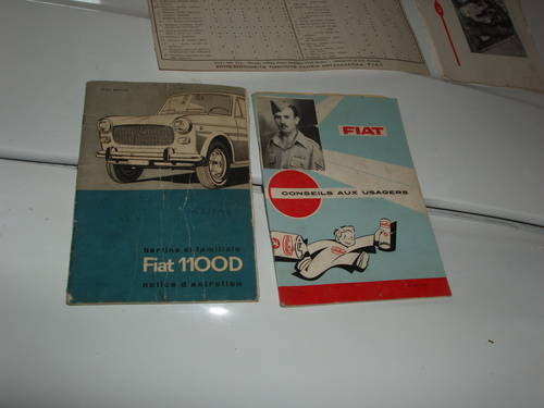 1962 Fiat 1100 D, preserved For Sale (picture 6 of 6)
