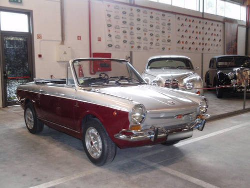 1971 Fiat 800 Vignale Spider For Sale (picture 1 of 6)