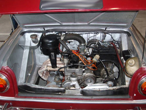 1971 Fiat 800 Vignale Spider For Sale (picture 5 of 6)