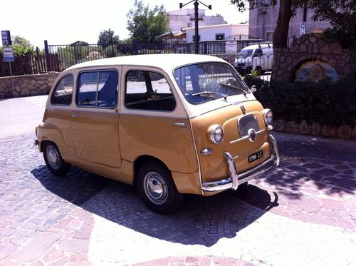 1957 Fiat 600D Multipla early FIRST SERIES Restored For Sale (picture 3 of 6)