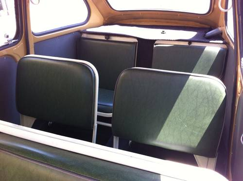 1957 Fiat 600D Multipla early FIRST SERIES Restored For Sale (picture 6 of 6)