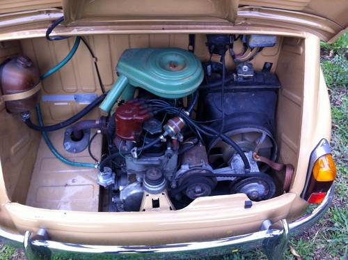 1957 Fiat 600D Multipla early FIRST SERIES Restored For Sale (picture 4 of 6)