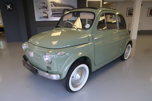 1959 Fiat 500n Nuova 500 Rhd For Sale Car And Classic
