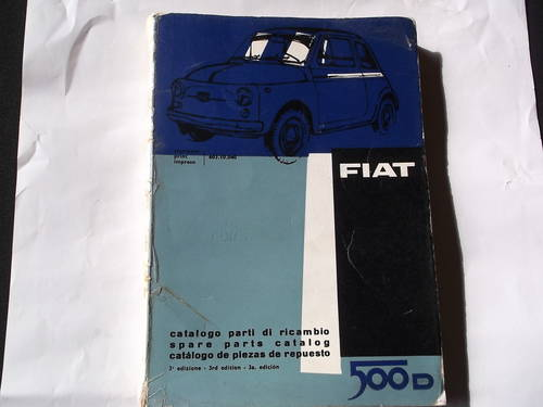 1964 FIAT 500 D For Sale (picture 1 of 1)