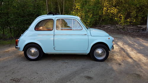 Fiat 500 Nuova Suicide doors (1965) For Sale (picture 2 of 6)