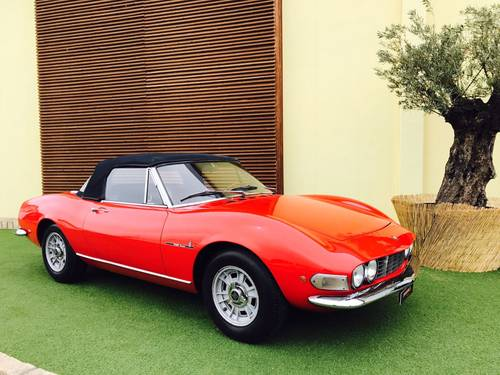 1968 FIAT DINO 2000 SPIDER PININFARINA For Sale (picture 1 of 6)