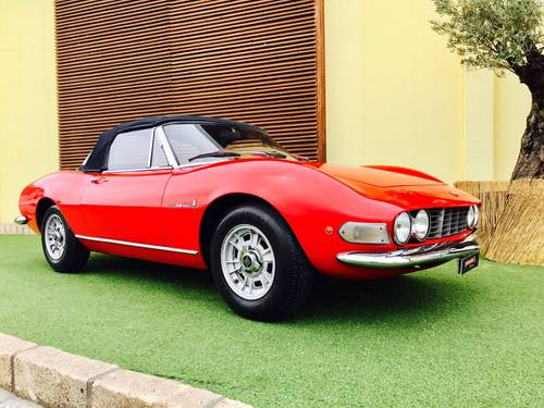 1968 FIAT DINO 2000 SPIDER PININFARINA For Sale (picture 2 of 6)