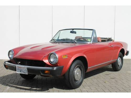 1977 Fiat 124 Spider 1800 USA For Sale (picture 1 of 6)