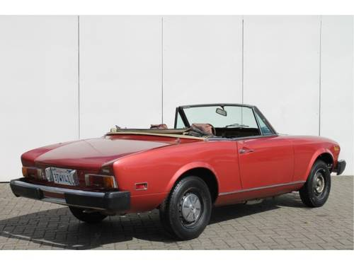 1977 Fiat 124 Spider 1800 USA For Sale (picture 2 of 6)