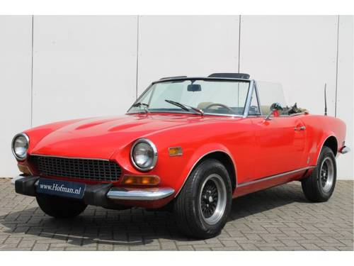 1974 Fiat 124 Spider 1800 For Sale (picture 1 of 6)