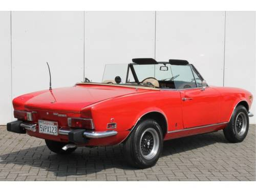 1974 Fiat 124 Spider 1800 For Sale (picture 2 of 6)