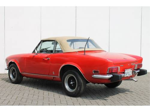 1974 Fiat 124 Spider 1800 For Sale (picture 4 of 6)