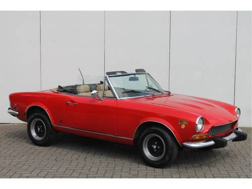 1974 Fiat 124 Spider 1800 For Sale (picture 5 of 6)