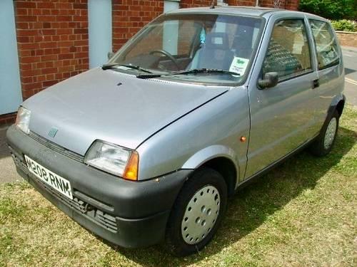 1994 Fiat 1.0 Cinquecento 61000 miles FSH  standard unmolested For Sale (picture 1 of 6)