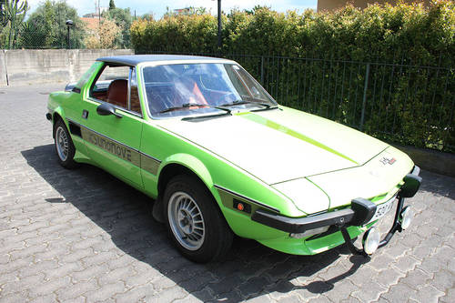 Fiat X1/9, Italy - Early '70s | Mileage: 24.000 For Sale (picture 1 of 6)
