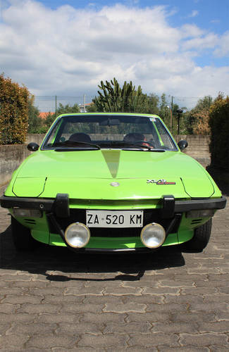 Fiat X1/9, Italy - Early '70s | Mileage: 24.000 For Sale (picture 4 of 6)