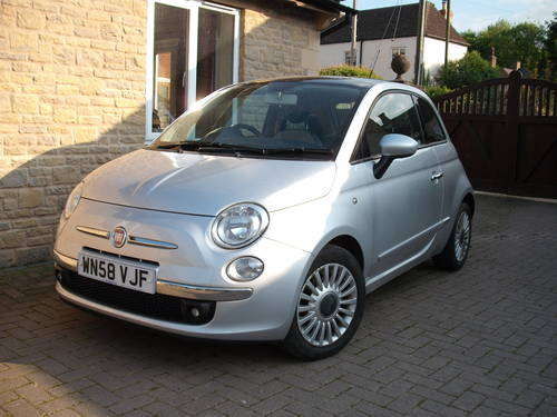 Fiat 500 1.4 2008 100 BHP 6 Speed Petrol 29k Miles 1 Owner SOLD (picture 1 of 6)