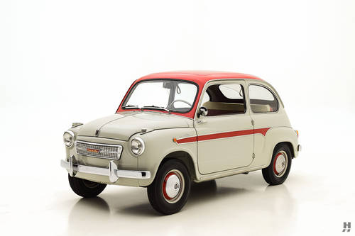 1959 Fiat 600 Viotti Coupe SOLD (picture 1 of 6)