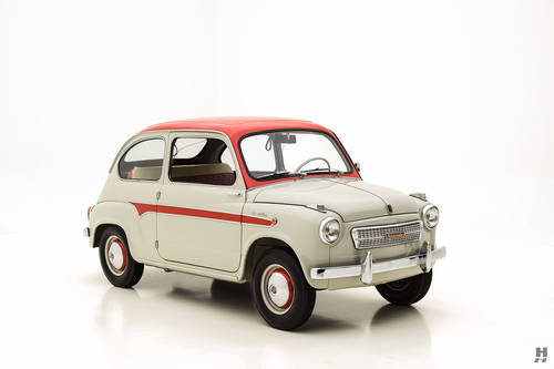 1959 Fiat 600 Viotti Coupe SOLD (picture 2 of 6)