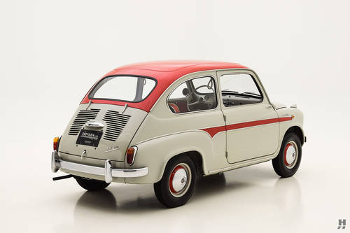 1959 Fiat 600 Viotti Coupe SOLD (picture 3 of 6)