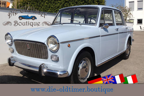 1964 Very lovely Fiat 1100 D - Berlina D 103 G1 - LHD SOLD (picture 1 of 6)