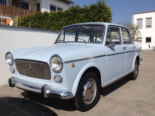 1964 Very lovely Fiat 1100 D - Berlina D 103 G1 - LHD SOLD (picture 2 of 6)