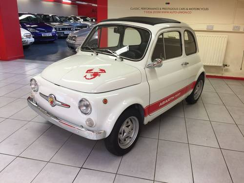 1972 FIAT 500F ABARTH (595) For Sale (picture 1 of 6)
