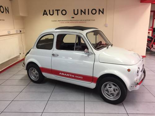 1972 FIAT 500F ABARTH (595) For Sale (picture 2 of 6)