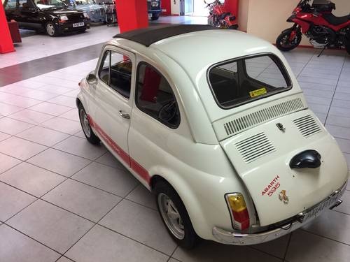 1972 FIAT 500F ABARTH (595) For Sale (picture 3 of 6)