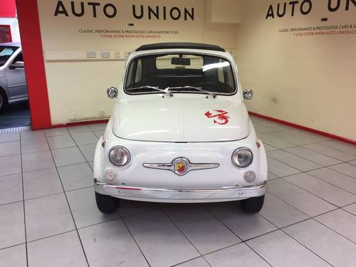 1972 FIAT 500F ABARTH (595) For Sale (picture 4 of 6)