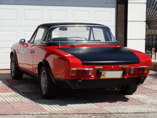1973 Fiat 124 Spider Abarth Rally Stradale, original #48 For Sale (picture 2 of 6)