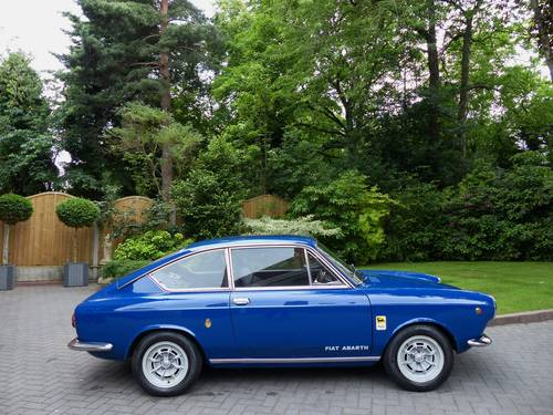 1966 Fiat Abarth 1000 OTS Coupe LHD £23,950 For Sale (picture 1 of 6)